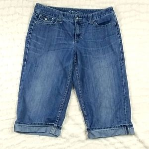 Women's Size 12 INC Denim Capris